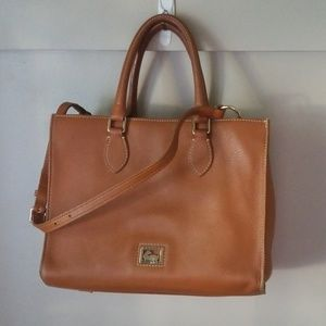 Dooney and bourke leather tote purse strap